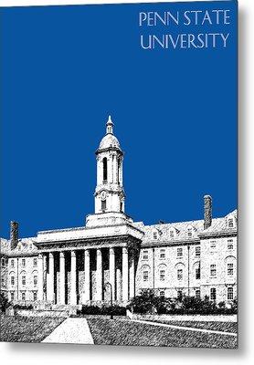 Penn State University - Royal Blue Metal Print by DB Artist