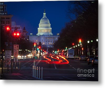 Pennsylvania Avenue Metal Print by Inge Johnsson