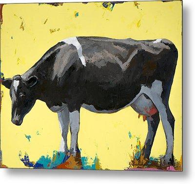 People Like Cows #12 Metal Print by David Palmer