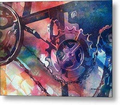 Perceptual Motion Metal Print by Kris Parins