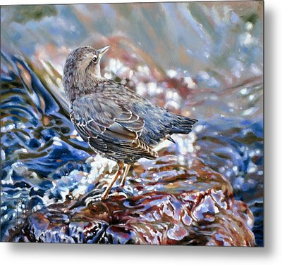 Perfect Camouflage  Metal Print by Dianna Ponting