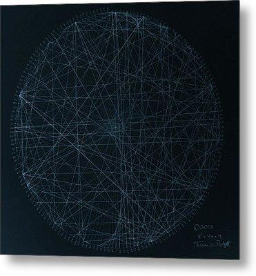 Perfect Square Metal Print by Jason Padgett