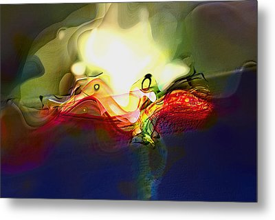 Performance Metal Print by Richard Thomas