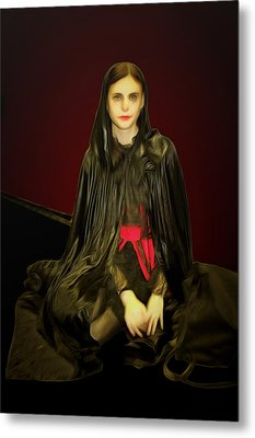 Persephone Queen Of Underworld Metal Print by Viktor Savchenko