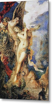 Perseus And Andromeda Metal Print by Gustave Moreau