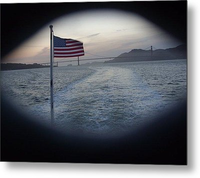 Perspective Liberty Metal Print by Misty Herrick
