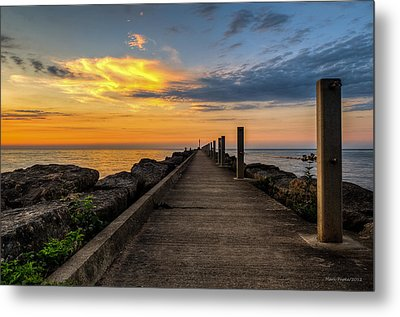 Perspective Light Metal Print by Mark Papke