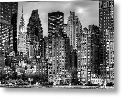 Perspectives Bw Metal Print by JC Findley