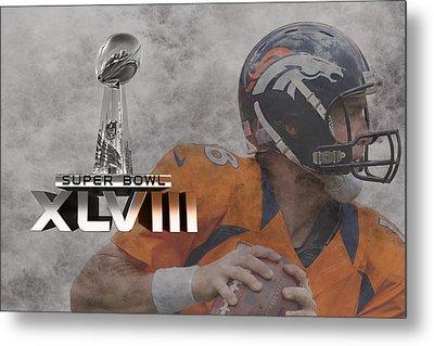 Peyton Manning Metal Print by Joe Hamilton