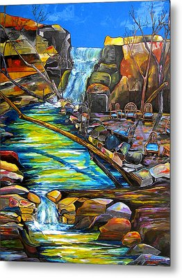 Phantom Falls Ranch Metal Print by Patti Schermerhorn