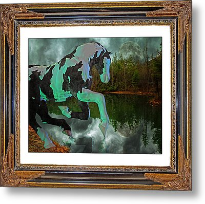 Phantom On The Lake Metal Print by Betsy Knapp
