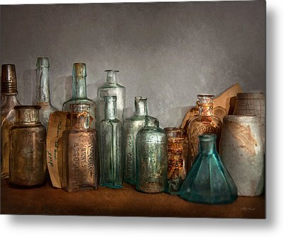 Pharmacy - Doctor I Need A Refill  Metal Print by Mike Savad