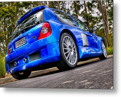 Phase 2 Clio V6 Metal Print by motography aka Phil Clark
