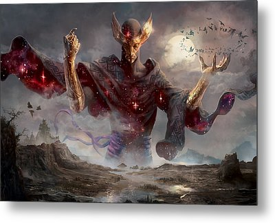 Phenax God Of Deception Metal Print by Ryan Barger