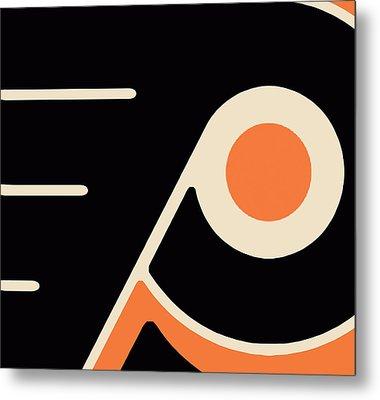 Philadelphia Flyers Metal Print by Tony Rubino