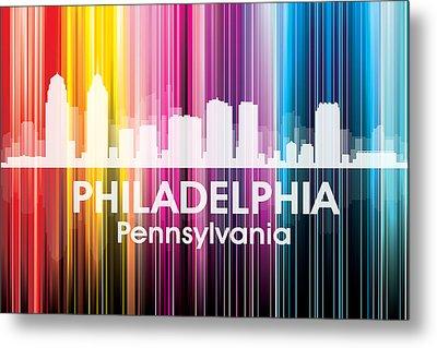 Philadelphia Pa 2 Metal Print by Angelina Vick