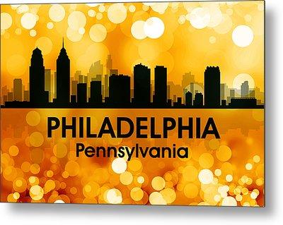 Philadelphia Pa 3 Metal Print by Angelina Vick