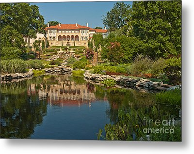 Philbrook Museum Of Art, Oklahoma Metal Print by Richard and Ellen Thane