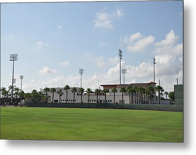 Phillies Brighthouse Stadium Clearwater Florida Metal Print by Bill Cannon