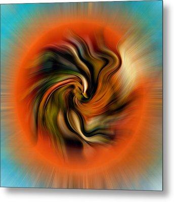 Phoenix Metal Print by Alessandro Della Pietra
