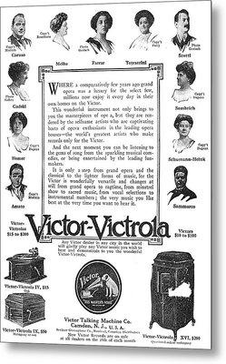 Phonograph Ad, 1912 Metal Print by Granger