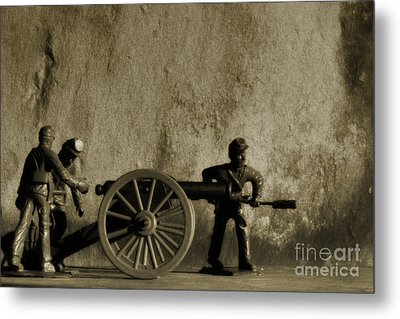 Photos From The Front Civil War One Metal Print by Randy Steele