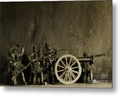 Photos From The Front Civil War Three Metal Print by Randy Steele