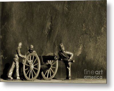 Photos From The Front Civil War Two Metal Print by Randy Steele
