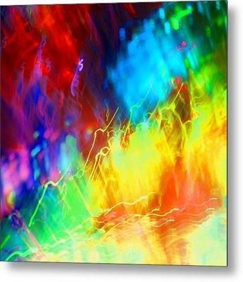 Physical Graffiti 1full Image Metal Print by Dazzle Zazz
