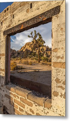 Picture Window Metal Print by Peter Tellone