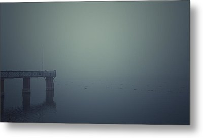 Piering Metal Print by Chris Fletcher