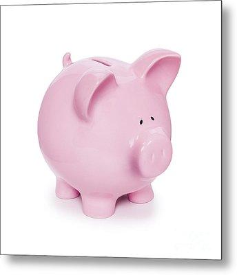 Piggy Bank  Metal Print by Colin and Linda McKie