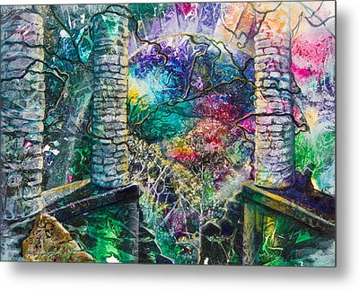 Pillars At The Edge Of The World Metal Print by Patricia Allingham Carlson