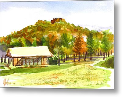 Pilot Knob Mountain 2 Metal Print by Kip DeVore