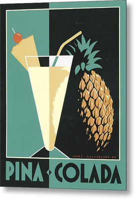 Pina Colada Metal Print by Brian James