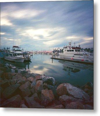Pinhole Oceanside Harbor Metal Print by Hugh Smith