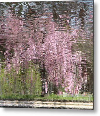 Pink Breeze Metal Print by Karin Ubeleis-Jones