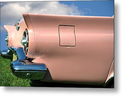Pink Fins Metal Print by Bill Cannon