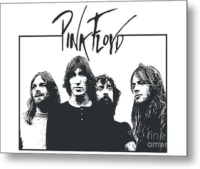 Pink Floyd No.05 Metal Print by Unknow