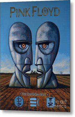 Pink Floyd - The Division Bell Metal Print by Paul Meijering