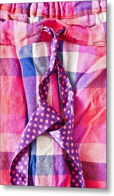 Pink Pyjamas Metal Print by Tom Gowanlock