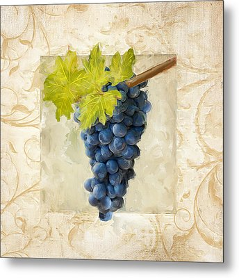 Pinot Noir II Metal Print by Lourry Legarde