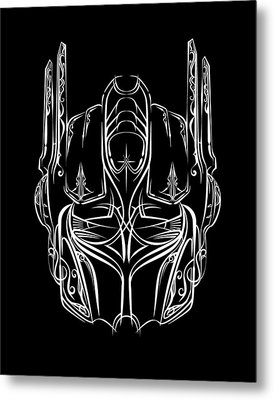 Pinstripe Prime Metal Print by Vincent Carrozza