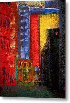 Pioneer Square Alleyway Metal Print by David Patterson