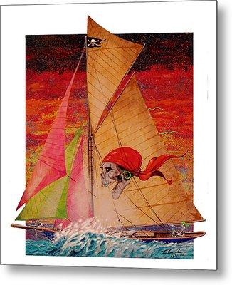 Pirate Passage Metal Print by David  Chapple