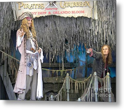 Pirates Of The Caribbean Metal Print by Spirit Baker
