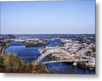 Pittsburgh North Metal Print by Michelle Joseph-Long