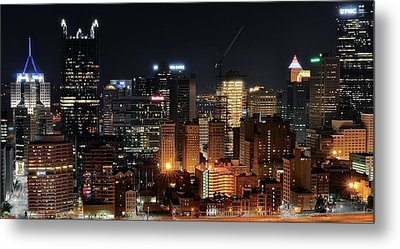 Pittsburgh Up Close II Metal Print by Frozen in Time Fine Art Photography