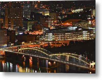 Pittsburgh Up Close Metal Print by Frozen in Time Fine Art Photography