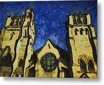 Place Of Worship Metal Print by Dale Stillman